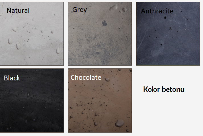 Kolor betonu
